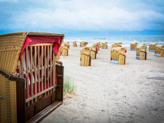 Urlaub am Strand in Deutschland