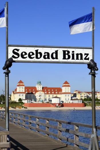 Seebad Binz auf Rügen